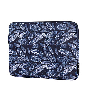cheap USB Hubs & Switches-13.3 Inch Laptop / 14 Inch Laptop / 15.6 Inch Laptop Sleeve Polyester / Canvas Leaf / Artwork for Business Office for Colleages & Schools for Travel Water Proof Shock Proof