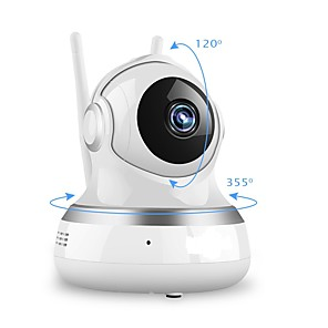 cheap Indoor IP Network Cameras-1080P 200W 3.6MM IP Camera WIFI CCTV Two-way Audio Video Surveillance P2P Home Security cloud/TF Card Storage 2MP Babyfoon Camera Network Motion Detection Remotion Control