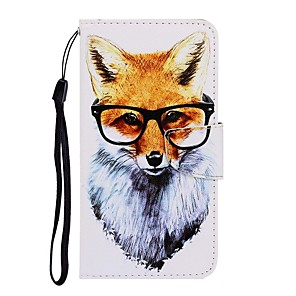 cheap Xiaomi Case-Case For Xiaomi Redmi Note 7 / Redmi Note 7 Pro / Redmi 7A Wallet / with Stand / Flip Full Body Cases Animal PU Leather