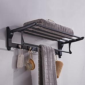 cheap Towel Bars-Bathroom Shelf New Design / Multifunction Modern Aluminum 1pc Wall Mounted