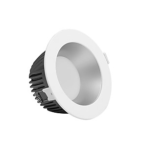 cheap LED Recessed Lights-PUSHENG 8.8 cm Flush Mount Spot Light Aluminum Geometrical Modern 110-120V / 220-240V