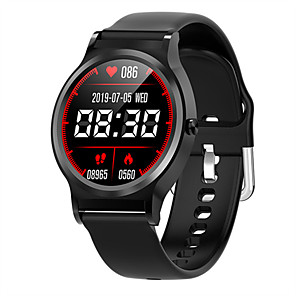 cheap Smartwatches-Smartwatch Digital Modern Style Sporty Silicone 30 m Water Resistant / Waterproof Heart Rate Monitor Bluetooth Digital Casual Outdoor - Black Blue