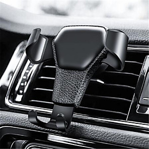 cheap Car Seat Covers-Gravity Car Phone Holder For Phone in Car Air Vent Clip Mount No Magnetic Mobile Phone Holder Cell Stand Support For iPhone GPS