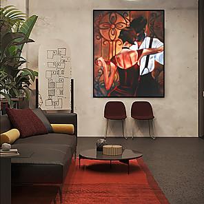 cheap Framed Arts-Framed Art Print Framed Set - People Spiritual PS Oil Painting Wall Art
