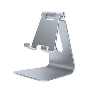 cheap Phone Mounts & Holders-Desk Mount Stand Holder Foldable / Adjustable Stand Gravity Type / Adjustable Aluminum Holder