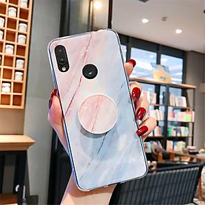 cheap Xiaomi Case-Case For Xiaomi Xiaomi Redmi Note 5 / Xiaomi Mi 8 / Xiaomi Mi 8 Lite with Stand / Pattern Back Cover Marble TPU