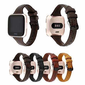 cheap Smartwatch Bands-Watch Band for Fitbit Versa / Fitbit  Versa 2 / Fitbit Versa2 fitbit versa 2 Sport Band Genuine Leather Wrist Strap