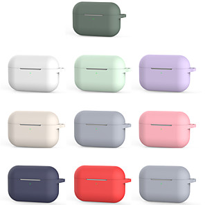cheap On-ear & Over-ear Headphones-AirPods Pro Case soft shell Anti-fall Pattern Portable For AirPods Pro  AirPods Charging Case Not Included