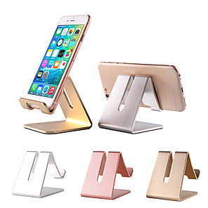 cheap Phone Mounts & Holders-For Phone / Pad Bed / Desk Mount Stand Holder Adjustable Stand New Design Aluminum Holder
