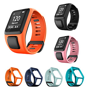 cheap Smartwatch Bands-Watch Band for TomTom Adventurer /TomTom Runner 2/TomTom Runner 3/ TomTom Golfer 2 / TomTom Spark 3 TomTom Sport Band Silicone Wrist Strap