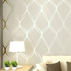 cheap Wallpaper-Wallpaper Nonwoven Wall Covering - Adhesive required Striped