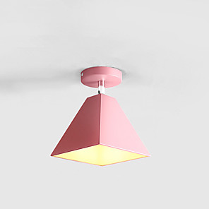 cheap Ceiling Lights-1-Light Nordic Wind Modern Macaron Ceiling Lamp Corridor Lamp Personality Warm Cloakroom Porch Lamp Corridor Lamp Balcony Lamp
