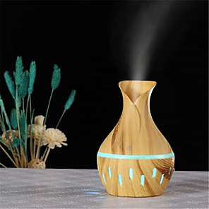 cheap Humidifiers-Aromatherapy Essential Oil Diffuser Mini Usb Air Humidifier Portable Ultrasonic Atomizing Humidifier Air Purifier Led Night Ligh