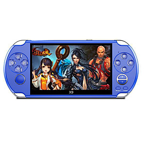 cheap Video Game Accessories-X9街机版(8G) Game Console Built in 1 pcs Games 5.1 inch inch Portable