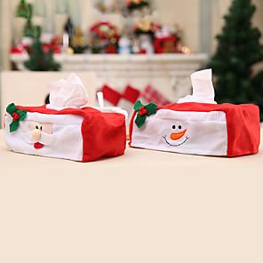 cheap Christmas Decorations-Christmas Tissue Box Decoration Set For Christmas Occasion Decoration
