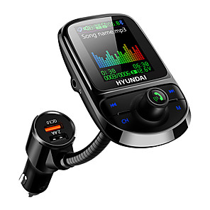 cheap Bluetooth Car Kit/Hands-free-The New 1.77 Color Screen Car MP3 Bluetooth Player Car FM Transmitter Bluetooth Speaker