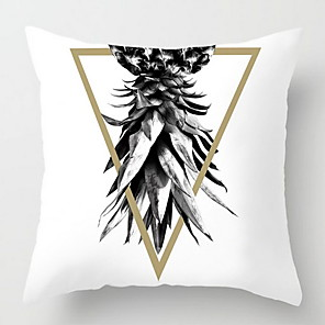 cheap Pillow Covers-1 pcs Cotton / Linen Pillow Cover & Insert, Novelty Throw Pillow