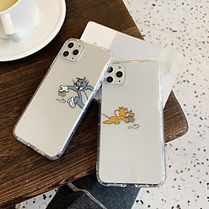 cheap iPhone Cases-Case For Apple iPhone 11 / iPhone 11 Pro / iPhone 11 Pro Max Shockproof Back Cover Cartoon TPU