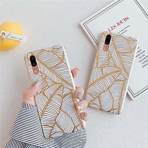cheap Phone Mounts & Holders-Case For Huawei Huawei nova 4e / Huawei P20 / Huawei P20 Pro Pattern Back Cover Tree TPU