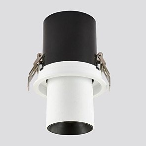 cheap LED Ceiling Light-LED Embedded Telescopic Stretchable Spotlights Clothing Store Track Lights Gallery Museum Background Wall Skylight 15W
