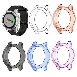 cheap Smartwatch Screen Protectors-Cases For Garmin Vivoactive 4S / Garmin Active S TPU Compatibility Garmin