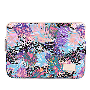 cheap Sleeves,Cases & Covers-11.6 Inch Laptop / 13.3 Inch Laptop / 14 Inch Laptop Sleeve Polyester / Canvas Painting / Plants for Business Office for Colleages & Schools for Travel Water Proof Shock Proof