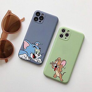 cheap iPhone Cases-Case For Apple iPhone 11 / iPhone 11 Pro / iPhone 11 Pro Max Pattern Back Cover Cartoon Silicone