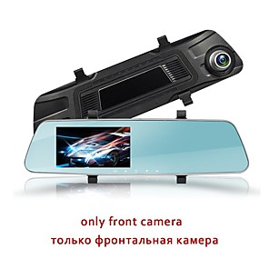 cheap Car DVR-MDS-L1020 Car DVR Rearview Mirror Full HD 1920x1080P 4.5 Inch LED Display L1020 Night Vision Dual Lens Camera Automobile Data Recorder