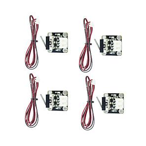 cheap 3D Printer Parts & Accessories-4pcs 3D Printer Parts Endstop Mechanical Limit Switches with Cable Endstop Press Switch Module