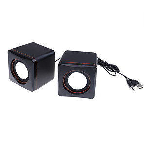 cheap Bookshelf Speakers-A-101 Wired Computer  Speaker Wire control function Computer  Speaker For PC