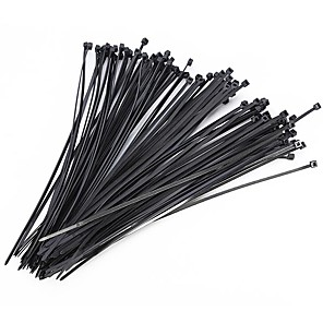 cheap Other Hand Tools-100Pcs Nylon Cable Self-locking Plastic Wire Zip Ties Set  Industrial Supply Fasteners Hardware Cable