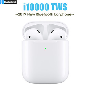 cheap Wired Earbuds-LITBest i10000 TWS True Wireless Earbuds Wireless Earbud Bluetooth 5.0 Stereo with Microphone with Volume Control
