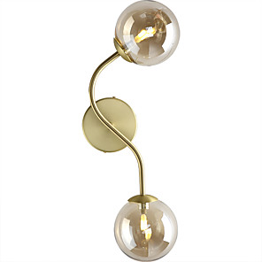 cheap Indoor Wall Lights-HEDUO Vintage / Traditional / Classic Wall Lamps & Sconces Bedroom / Office Metal Wall Light 110-120V / 220-240V