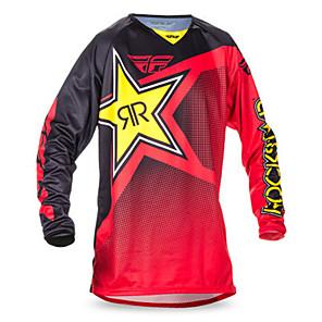 povoljno Motociklističke jakne-tld motocikl jersy speed subduing proljeće i jesen dugi rukav vrh mountain bike odijelo cross country motociklističko trkačko odijelo