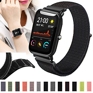 cheap Smartwatch Bands-Watch Band for Amazfit  GTR  42mm / Amazfit Bip Lite / Amazfit GTS Amazfit Sport Band Nylon Wrist Strap
