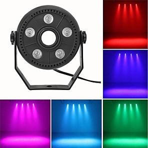 cheap LED Ceiling Light-1 set 10 W 3000   6500 lm 5 LED Beads Bluetooth Speaker LED Stage Light / Spot Light RGB 85-265 V Stage Christmas New Year's