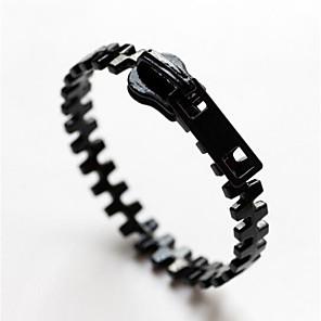 povoljno Modne narukvice-Žene Širok prstenje 3D dragocjen Vintage Punk Legura Narukvica Nakit Crn Za Ulica