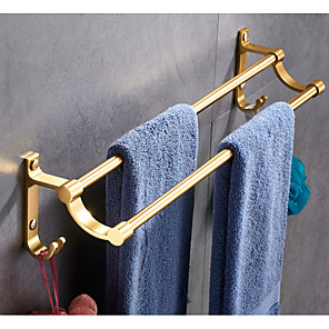 cheap Toothbrush Holder-Towel Bar Creative / Multifunction Contemporary Aluminum 1pc Wall Mounted