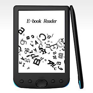 cheap MP3 player-LITBest 6 E-ink E-book Reader Resolution Display 300 Dpi Electronic E-book Reader 800x600