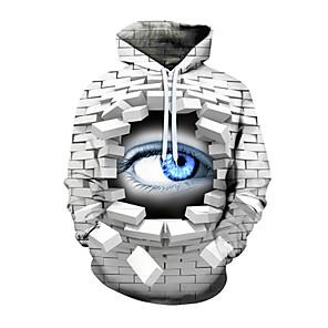 povoljno Cosplay za svaki dan-Inspirirana Dragon Ball Cosplay Pink Floyd Knit & Cutsew Hoodie 100% poliester 3D Printing Pletenje Kolaž Za Muškarci / Žene