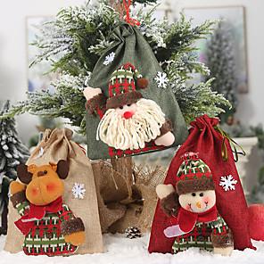 cheap Wedding Gifts-Favor Bags Cloth 1 Piece Christmas