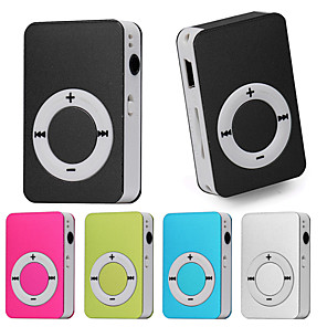 cheap MP3 player-HODIENG HiFi Mini USB MP3 Music Media Player(No Memory Capacity Recording)