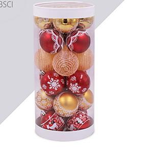 cheap Christmas Decorations-Christmas Ornaments Holiday Plastic Mini Cartoon Christmas Decoration