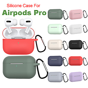 cheap On-ear & Over-ear Headphones-Silicone Case With Climbing Knot For Apple Airpods Pro Case Wireless Bluetooth Headset Cover Shockproof Bag Airpods 3