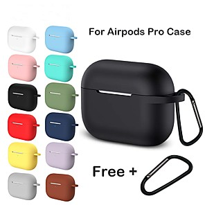 cheap Headphones Accessories-Silicone Case For Apple Airpods Pro Earphone For AirPods Pro Case Wireless Bluetooth Headset Cover Shockproof Bag For Airpods 3