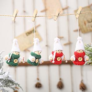 cheap Wedding Gifts-Ornaments Cloth 2pcs Christmas