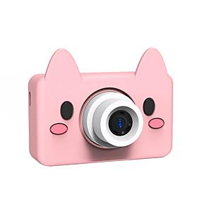 cheap Action Cameras-8.0MP HD Video Camera Portable Cartoon Digital Camera Camcorder Digital Photo Camera with LCD Screen Kids Camera Childrens Toy
