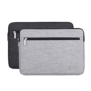 cheap Sleeves,Cases & Covers-13.3 Inch Laptop / 14 Inch Laptop / 15.6 Inch Laptop Sleeve Polyester / Canvas Plain / Fashion for Business Office for Colleages & Schools for Travel Water Proof Shock Proof