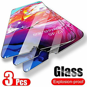 cheap Samsung Screen Protectors-3Pcs Glass For Samsung Galaxy A50 9H Screen Protector Tempered Glass for Samsung A10 A90 A20 A80 A40 A60 A30 A70