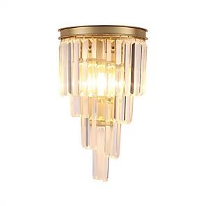 cheap Indoor Wall Lights-QIHengZhaoMing Crystal Wall Lamps & Sconces Bedroom / Shops / Cafes Crystal Wall Light 110-120V / 220-240V 5 W